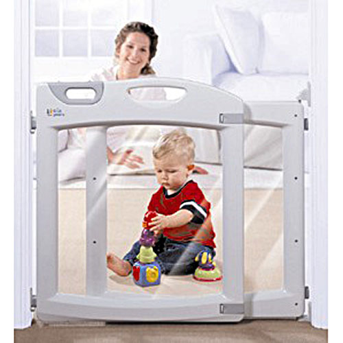 the first years baby gate how to open